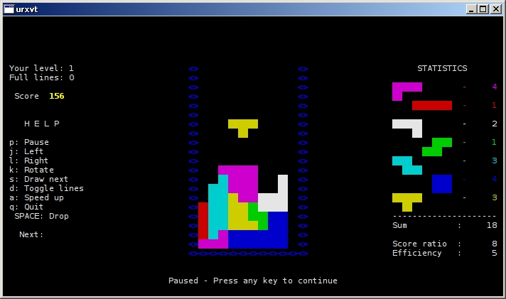 tint: A fast-paced, colorful Tetris | Inconsolation